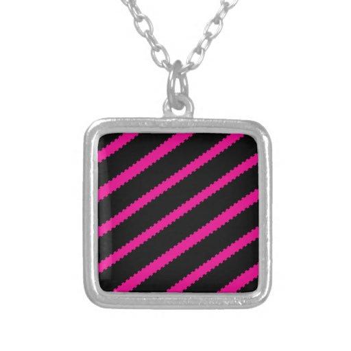Dashed Puzzle Stripe Pendants