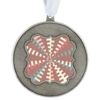 Dashed vortex ornament