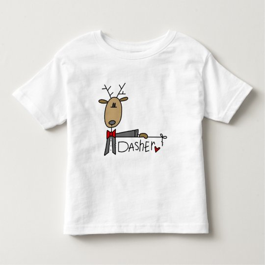 Dasher Reindeer Tshirts and Gifts