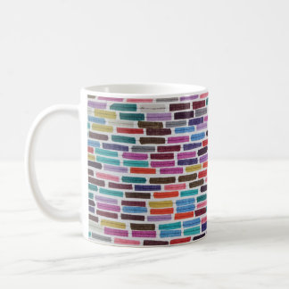 Dashes, Doors, and Swatches mini collage Coffee Mug