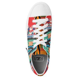 Dashiki, kente mash-up Low-Top sneakers