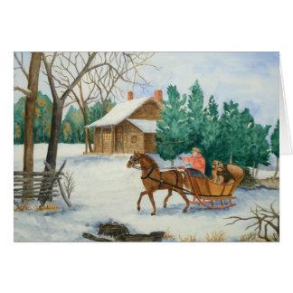 Dashing Christmas & New Year Card