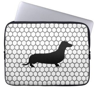 Dashing Dachshund Computer Sleeve