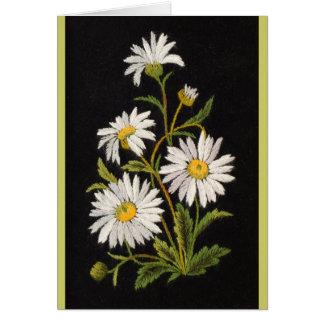 Dashing Daisies Greeting Card
