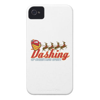 Dashing Of Christmas Spirit iPhone 4 Covers