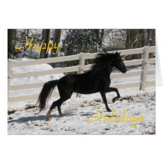 Dashing Stallion Stationery Note Card
