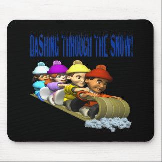 Dashing Through The Snow 2 Mouse Pad