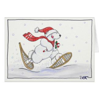 Dashing Through the Snow! Greeting Card