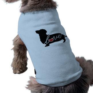 Dashund Wiener Dog Love Dog Tshirt
