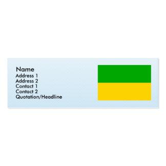 Dasnice, Czech Business Card Templates