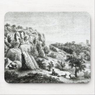 d'Asso de Castel, de la necrópolis Alfombrillas De Raton
