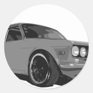 Dastun 510 classic round sticker