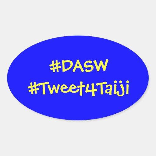 #DASW  & #Tweet4Taiji Sticker