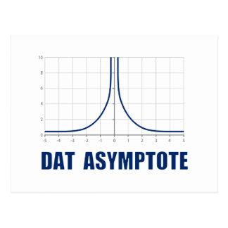 Dat Asymptote Postcard