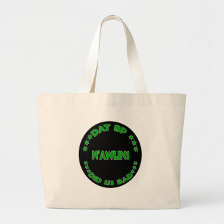 DAT BAD LARGE TOTE BAG