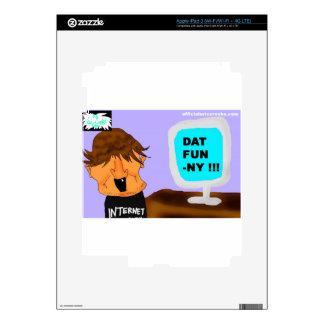 DAT FUN-NY! DECAL FOR iPad 3