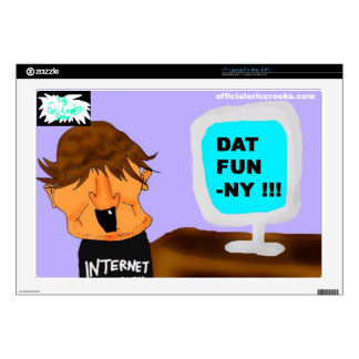 DAT FUN-NY! SKINS FOR LAPTOPS