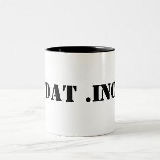 DAT .INC Two-Tone COFFEE MUG