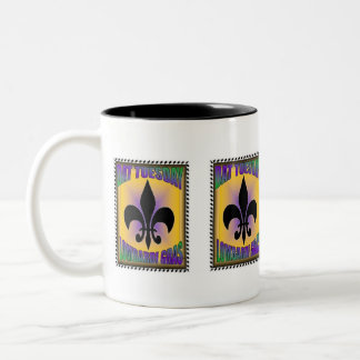 Dat Tuesday Lombardi gras MG colors Mug