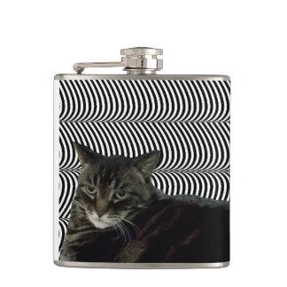 Dat Unimpressed Cat Flask