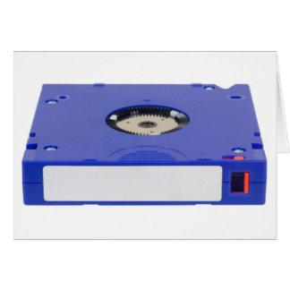 Data backup tape card