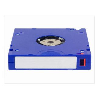 Data backup tape postcard