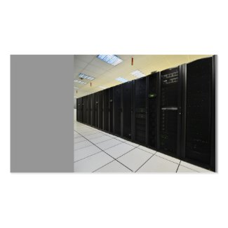 data center computers Double-Sided standard business cards (Pack of 100)