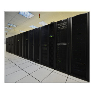 data center computers poster