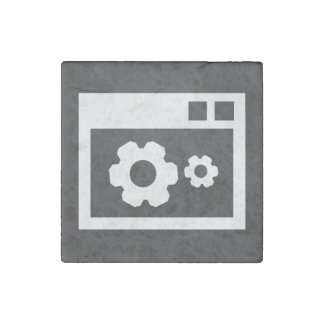 Data Configs Icon Stone Magnet