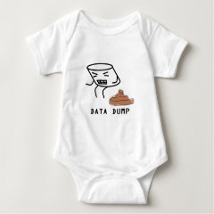 Data Dump Baby Bodysuit