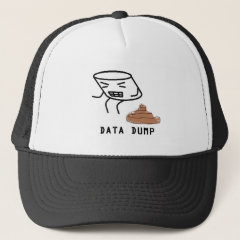 Data Dump Trucker Hat