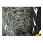 Data in the Sistine Chapel Post Cards