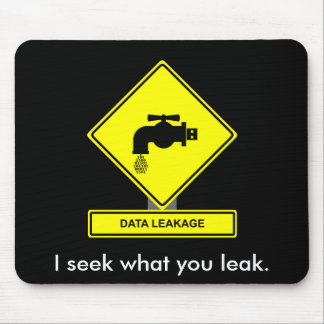 Data Leakage Mousepad