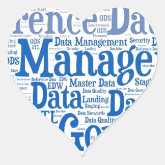 Data Management Cloud.jpg Heart Sticker
