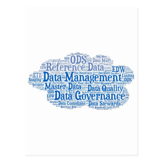 Data Management Cloud.jpg Postcard