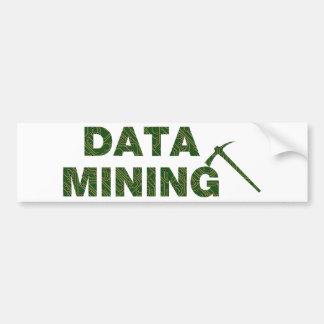 Data Mining Bumper Sticker