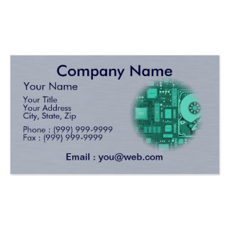data processing - breakdown service - code Double-Sided standard business cards (Pack of 100)