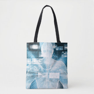 Data Protection and System Integrity as a Concept Tote Bag