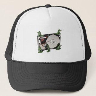 Data protection trucker hat