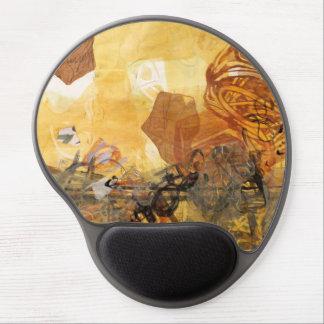 Data Pulse Abstract Art Mousepad Gel Mouse Pad
