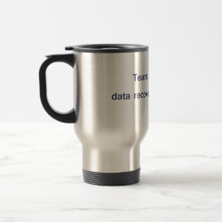 Data Recovery Mechanism Mug