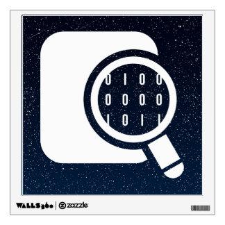Data Researches Symbol Wall Sticker