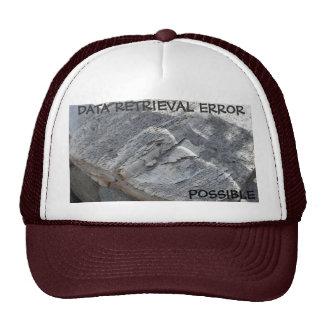 DATA RETRIEVAL ERROR  POSSIBLE TRUCKER HAT