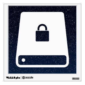 Data Secures Minimal Wall Sticker