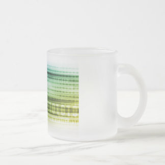 Data Security over the Internet and Personal Info Frosted Glass Coffee Mug