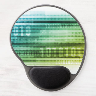 Data Security over the Internet and Personal Info Gel Mouse Pad