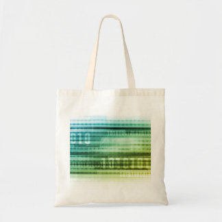 Data Security over the Internet and Personal Info Tote Bag
