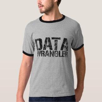 DATA WRANGLER ringer T-shirt