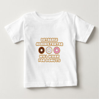 Database Admin .. Will Work For Donuts Shirts
