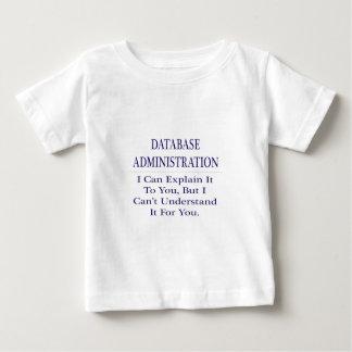 Database Administration .. Explain Not Understand Tshirts